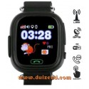 Touch Gps horloges telefoon tracker kind - Zwart
